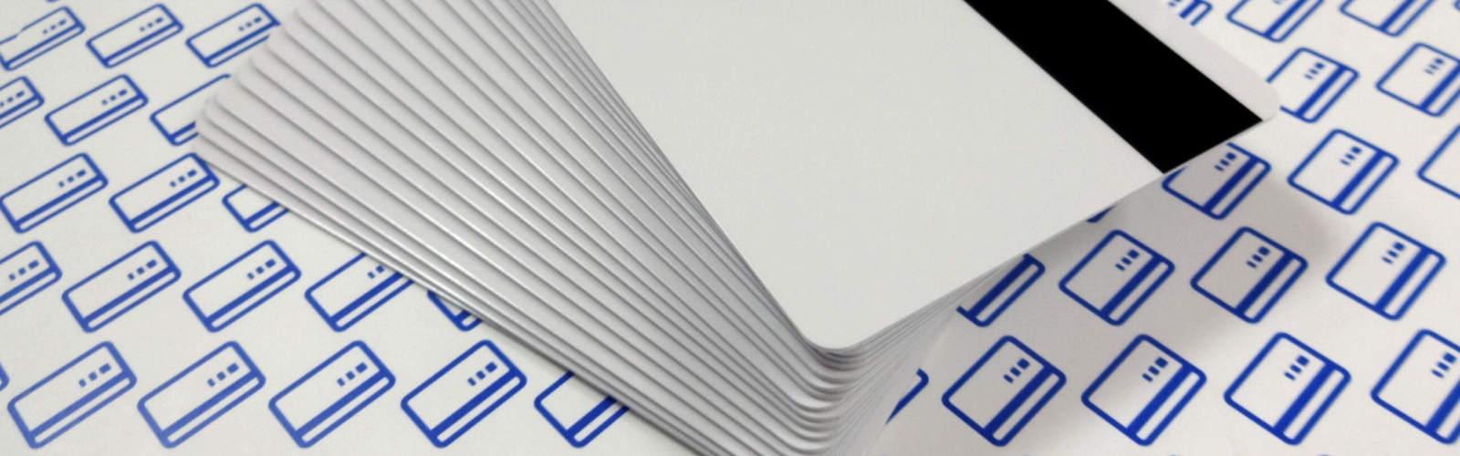 Karty białe magnetyczne